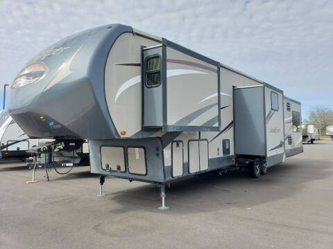 2015 Forest River sandpiper 371REBH  for sale at Ultimate RV in White Settlement TX