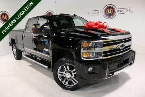 2018 Chevrolet Silverado 2500HD for sale at Unlimited Motors in Fishers IN