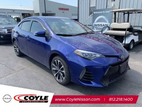 2017 Toyota Corolla for sale at COYLE GM - COYLE NISSAN - New Inventory in Clarksville IN