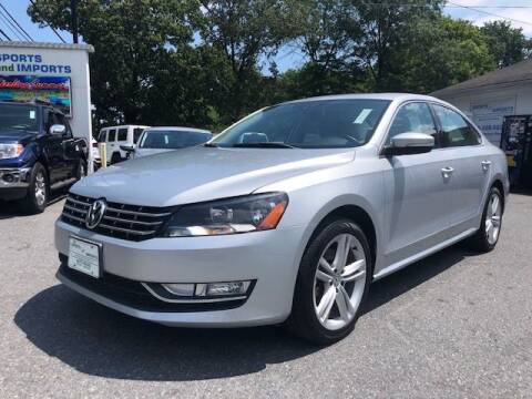 2014 Volkswagen Passat for sale at Sports & Imports in Pasadena MD