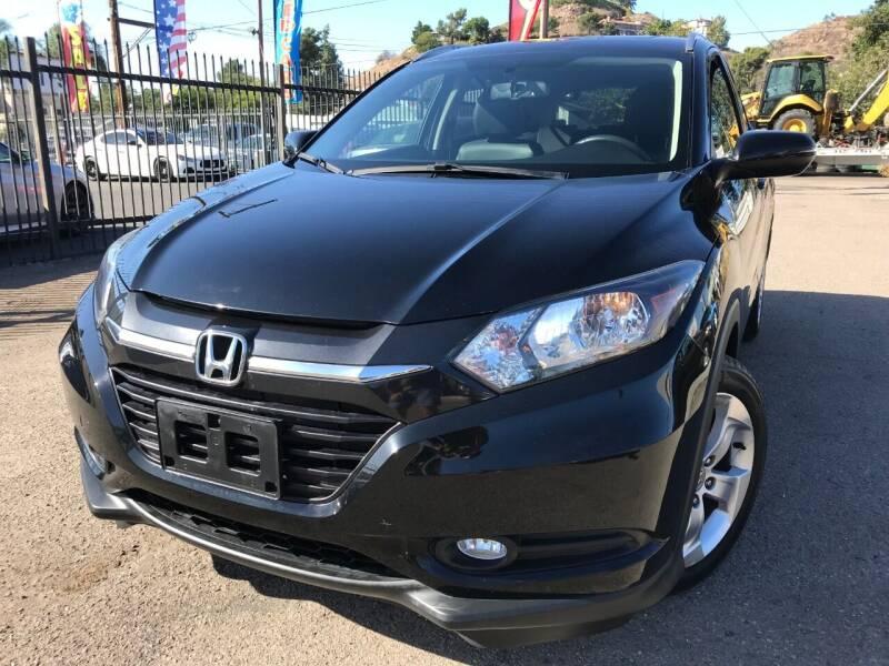 2016 Honda HR-V for sale at Vtek Motorsports in El Cajon CA