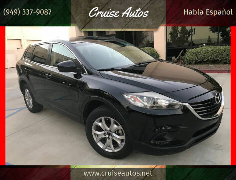2015 Mazda CX-9 for sale at Cruise Autos in Corona CA