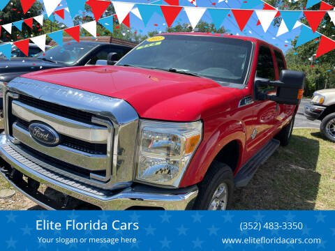 2013 Ford F-250 Super Duty for sale at Elite Florida Cars in Tavares FL