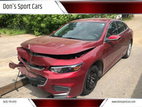 2018 Chevrolet Malibu for sale at Don's Sport Cars in Hortonville WI