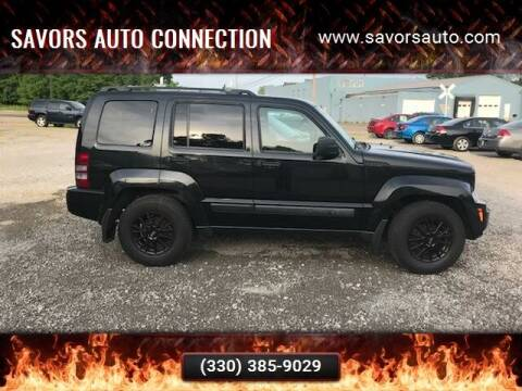 2008 Jeep Liberty for sale at SAVORS AUTO CONNECTION LLC in East Liverpool OH