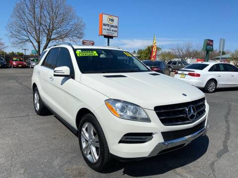 2013 Mercedes-Benz M-Class for sale at TDI AUTO SALES in Boise ID