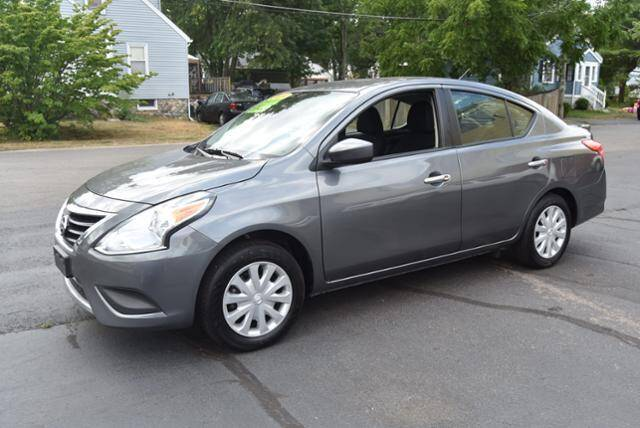 2019 Nissan Versa for sale at Absolute Auto Sales, Inc in Brockton MA