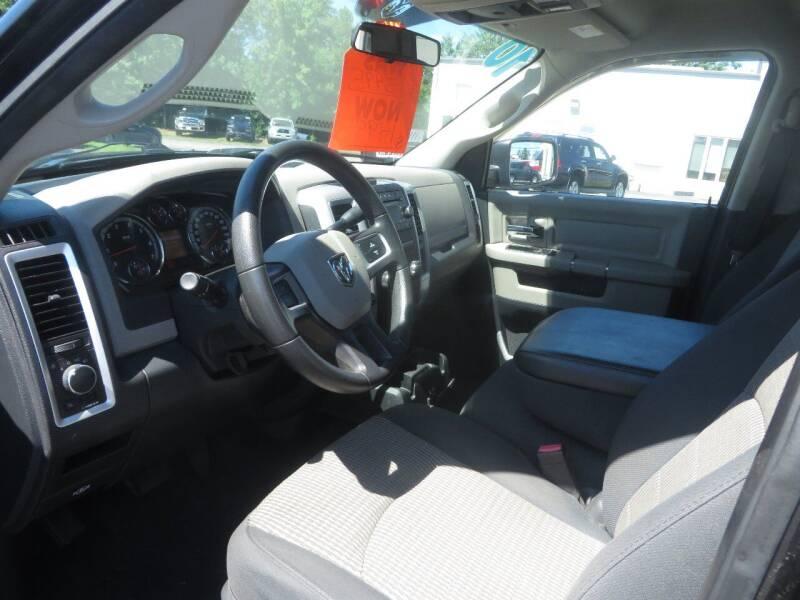 2010 Dodge Ram Pickup 1500 4x4 SLT 4dr Quad Cab 6.3 ft. SB Pickup - Concord NH