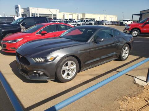 2015 Ford Mustang for sale at South Plains Autoplex by RANDY BUCHANAN in Lubbock TX