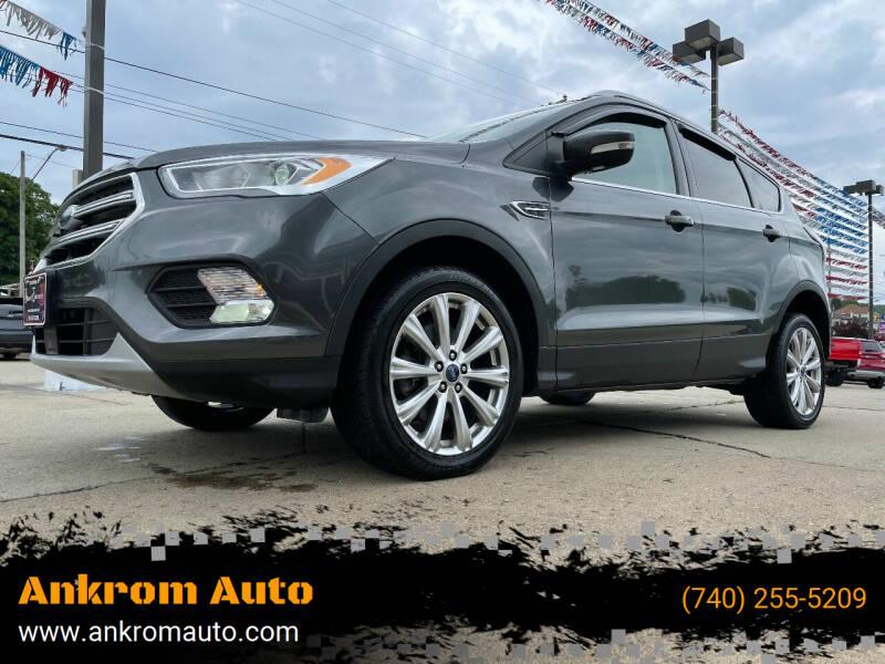 2017 Ford Escape for sale at Ankrom Auto in Cambridge OH