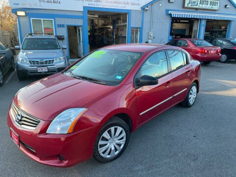 2010 Nissan Sentra for sale at Bridge Road Auto in Salisbury MA