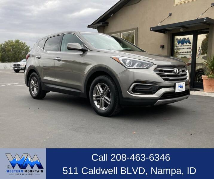 2017 Hyundai Santa Fe Sport for sale at Western Mountain Bus & Auto Sales in Nampa ID