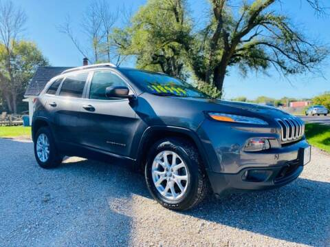 2016 Jeep Cherokee for sale at BARKLAGE MOTOR SALES in Eldon MO