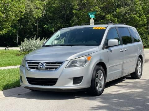 2011 Volkswagen Routan for sale at L G AUTO SALES in Boynton Beach FL