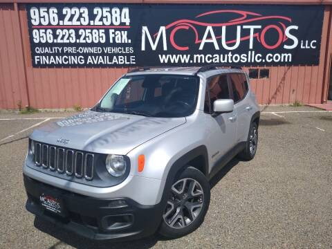 2015 Jeep Renegade for sale at MC Autos LLC in Pharr TX