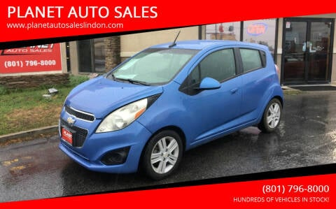 2014 Chevrolet Spark for sale at PLANET AUTO SALES in Lindon UT