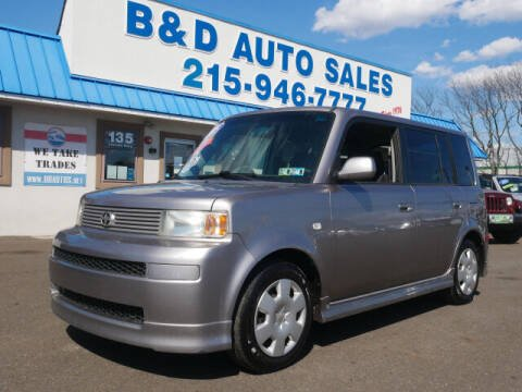 2005 Scion xB for sale at B & D Auto Sales Inc. in Fairless Hills PA