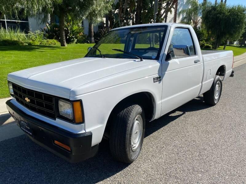 1987 Chevrolet S-10 for sale at Donada  Group Inc in Arleta CA