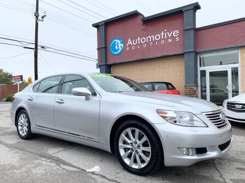 2012 Lexus LS 460 for sale at Automotive Solutions in Louisville KY