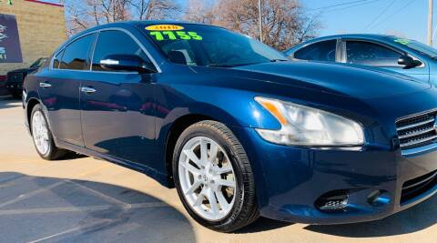 2010 Nissan Maxima for sale at VanHoozer Auto Sales in Lawton OK
