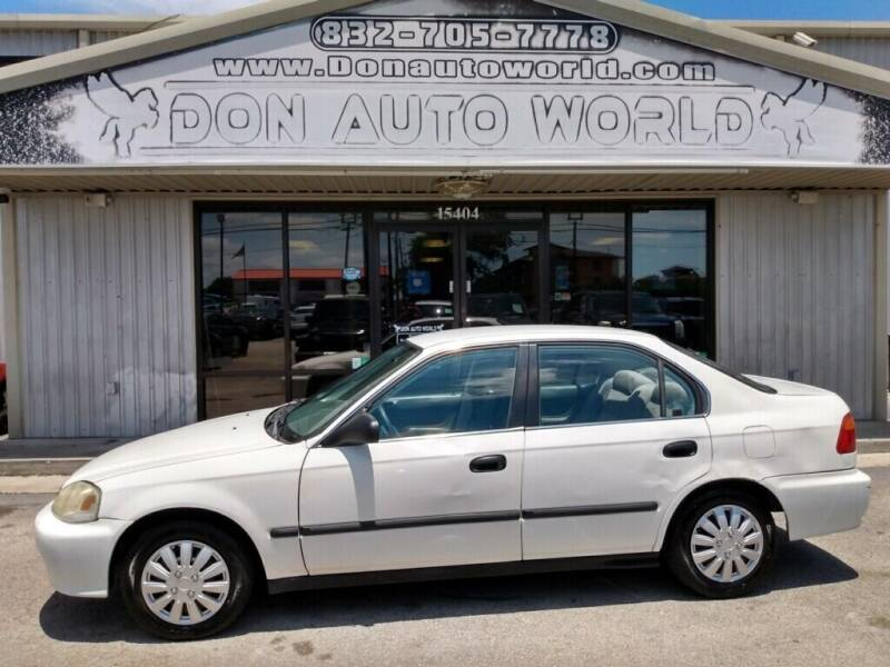 2000 Honda Civic for sale at Don Auto World in Houston TX