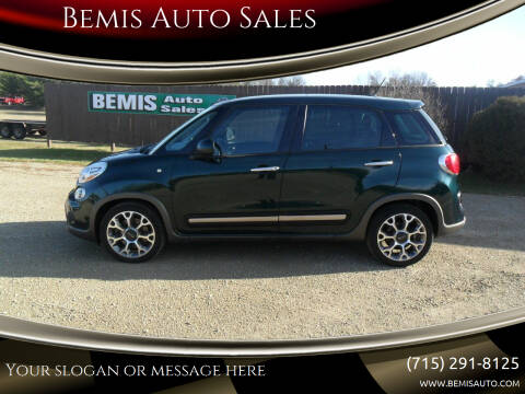 2014 FIAT 500L for sale at Bemis Auto Sales in Crivitz WI