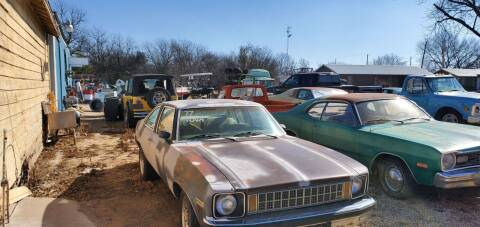 1977 Chevrolet Nova for sale at CLASSIC MOTOR SPORTS in Winters TX