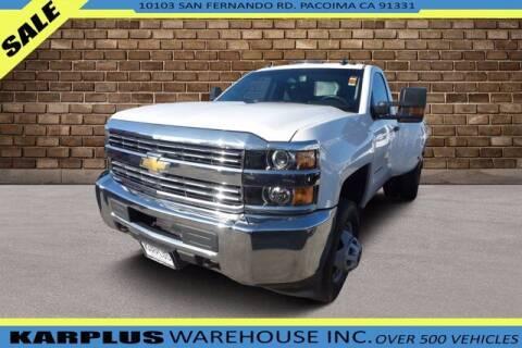 2018 Chevrolet Silverado 3500HD for sale at Karplus Warehouse in Pacoima CA