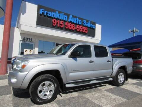 2007 Toyota Tacoma for sale at Franklin Auto Sales in El Paso TX