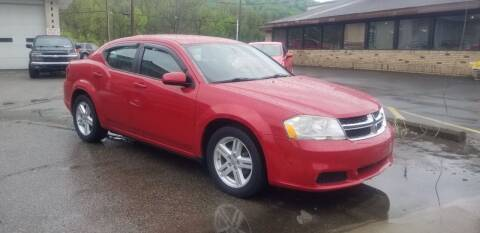 2011 Dodge Avenger for sale at Steel River Auto in Bridgeport OH