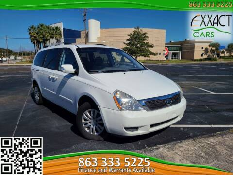 2011 Kia Sedona for sale at Exxact Cars in Lakeland FL