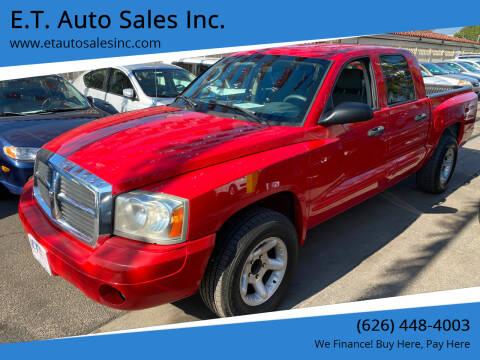 2005 Dodge Dakota for sale at E.T. Auto Sales Inc. in El Monte CA