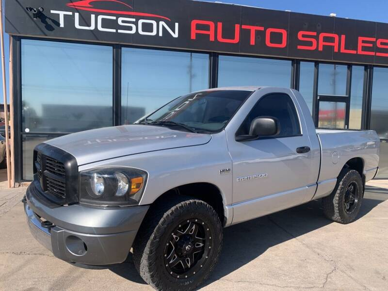 2006 Dodge Ram Pickup 1500 for sale at Tucson Auto Sales in Tucson AZ