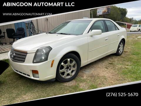 2003 Cadillac CTS for sale at ABINGDON AUTOMART LLC in Abingdon VA