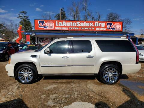 2012 Cadillac Escalade ESV for sale at LA Auto Sales in Monroe LA