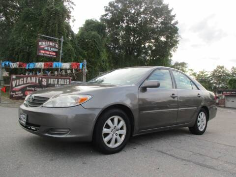2002 Toyota Camry for sale at Vigeants Auto Sales Inc in Lowell MA