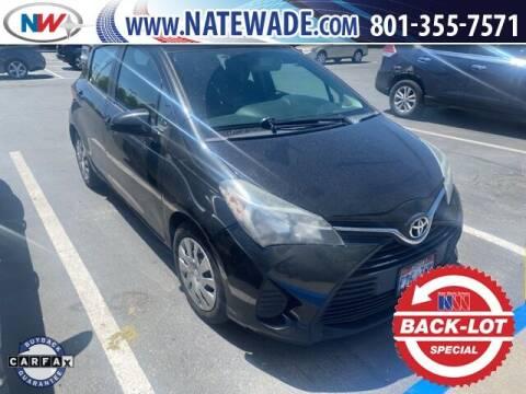 2015 Toyota Yaris for sale at NATE WADE SUBARU in Salt Lake City UT