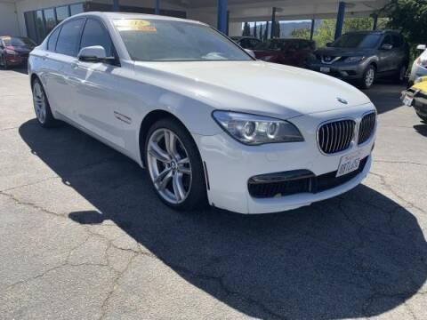 2015 BMW 7 Series for sale at CAR CITY SALES in La Crescenta CA