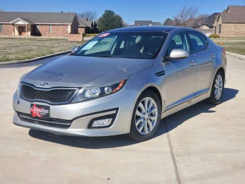2014 Kia Optima for sale at Chihuahua Auto Sales in Perryton TX