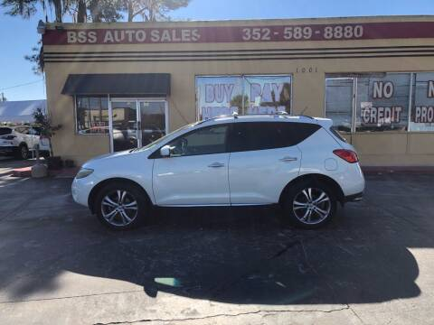 2009 Nissan Murano for sale at BSS AUTO SALES INC in Eustis FL