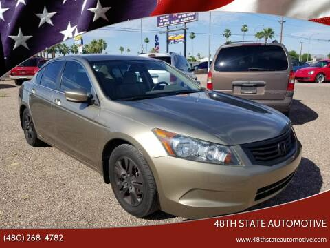 2010 Honda Accord for sale at 48TH STATE AUTOMOTIVE in Mesa AZ