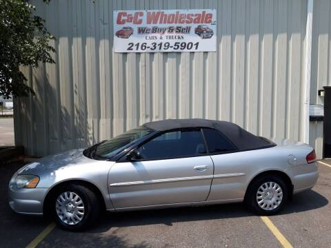 2004 Chrysler Sebring for sale at C & C Wholesale in Cleveland OH