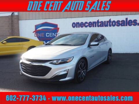 2020 Chevrolet Malibu for sale at One Cent Auto Sales in Glendale AZ