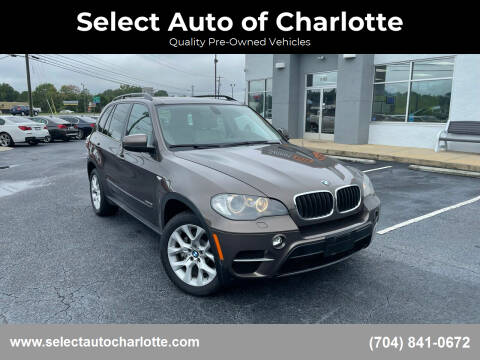 2011 BMW X5 for sale at Select Auto of Charlotte in Matthews NC
