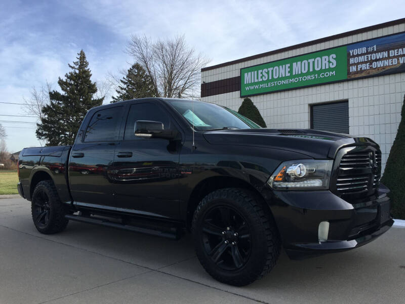 2015 RAM Ram Pickup 1500 for sale at MILESTONE MOTORS in Chesterfield MI