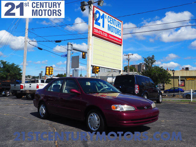 1998 Toyota Corolla for sale at 21st Century Motors in Fall River MA