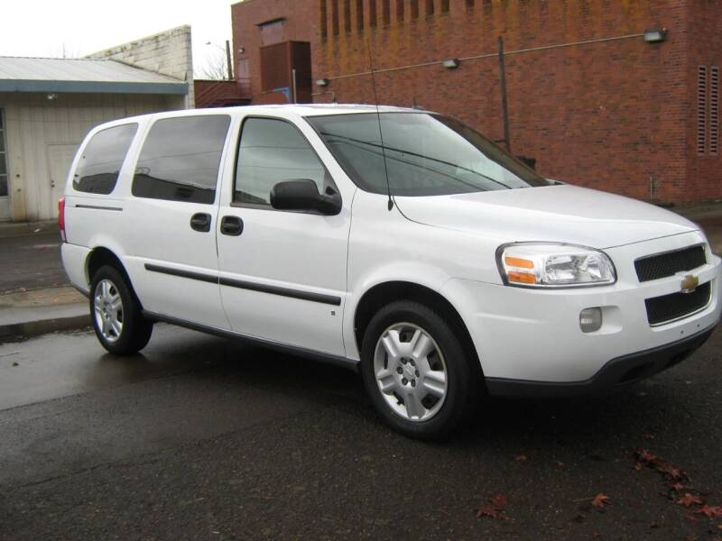 2008 Chevrolet Uplander for sale at D & M Auto Sales in Corvallis OR