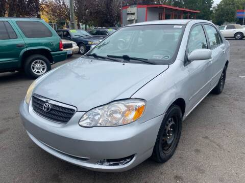 2007 Toyota Corolla for sale at Blue Line Auto Group in Portland OR