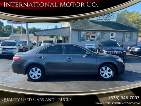 2008 Toyota Camry for sale at International Motor Co. in Saint Charles MO