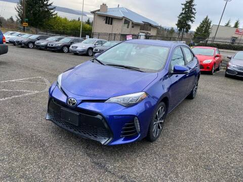 2017 Toyota Corolla for sale at KARMA AUTO SALES in Federal Way WA